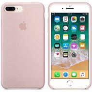 Apple iPhone 8 Plus/7 Plus Silikonový kryt pískově růžový - Kryt na mobil