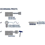 Richter Czech Euro Secure ES.40/55.NI - Cylindrická vložka