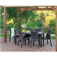 KETER Stůl MELODY hnědá - Zahradní stůl