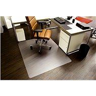 RS OFFICE Ecoblue 75x120cm, tvar E - Podložka pod židli