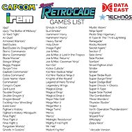 Retro konzole Retrocade Plug and Play - Herní konzole