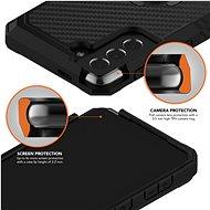 Rokform Kryt Rugged pro Samsung Galaxy S21+, černý - Kryt na mobil