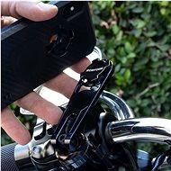 """Rokform držák na řídítka motocyklu, černý, STANDARD Harley Davidson pro rozteč šroubů 1.65-1.45"""" - Držák na mobilní telefon"""