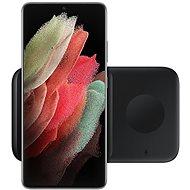 Samsung Duální bezdrátová nabíječka černá, bez kabelu v balení - Bezdrátová nabíječka