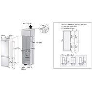 SAMSUNG BRB260030WW/EF - Vestavná lednice