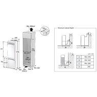SAMSUNG BRB260034WW/EF - Vestavná lednice