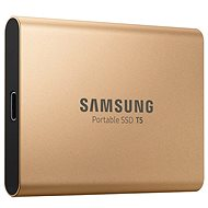Samsung SSD T5 1TB zlatý - Externí disk