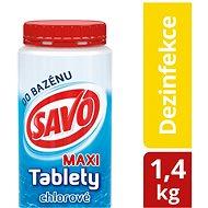 SAVO Chlorové tablety maxi 1.4kg - Bazénová chemie