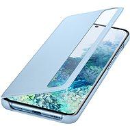 Samsung  Flipové pouzdro Clear View pro Galaxy S20 modré - Pouzdro na mobil