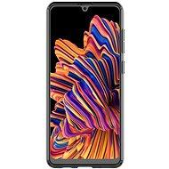 Samsung Poloprůhledný zadní kryt pro Galaxy A31 černý - Kryt na mobil
