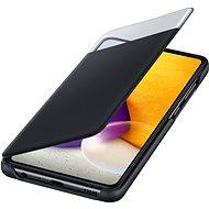 Samsung flipové pouzdro S View pro Galaxy A72 černý - Pouzdro na mobil