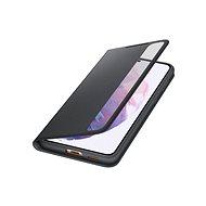 Samsung Flipové pouzdro Clear View pro Galaxy S21+ černé - Pouzdro na mobil