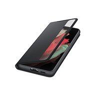 Samsung Flipové pouzdro Clear View pro Galaxy S21 Ultra černé - Pouzdro na mobil
