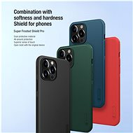 Nillkin Super Frosted PRO zadní kryt pro Apple iPhone 13 Pro Red - Kryt na mobil
