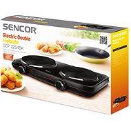 SENCOR SCP 2254BK-EUE3 vařič dvouplot. - Elektrický vařič