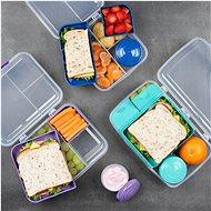 SISTEMA 1.65L Bento Lunch To Go Blue Online Range - Svačinový box