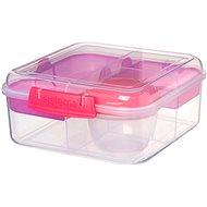 SISTEMA 1.25L Bento Cube To Go Pink Online Range - Svačinový box
