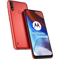 Motorola Moto E7 Power červená - Mobilní telefon