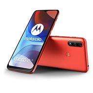 Motorola Moto E7i Power červená - Mobilní telefon