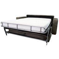SOFAREAL STELA rozkládací pohovka na každodenní spaní, šedá - Pohovka