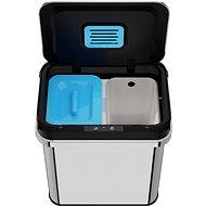 Home Bezdotykový odpadkový koš s ozonizérem 24L (12+12) - Odpadkový koš