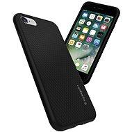 Spigen Liquid Black iPhone 7/8/SE 2020 - Kryt na mobil