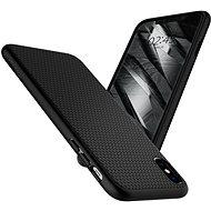 Spigen Liquid Air Black iPhone XS/X - Kryt na mobil