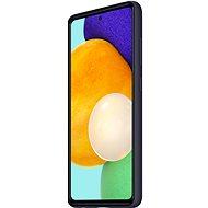 Samsung Silikonový zadní kryt pro Galaxy A52 / A52 5G černý - Kryt na mobil