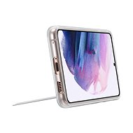 Samsung Průhledný zadní kryt se stojánkem pro Galaxy S21+ průhledný - Kryt na mobil