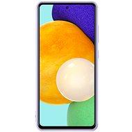 Samsung Silikonový Kryt pro Galaxy A52 Violet - Kryt na mobil