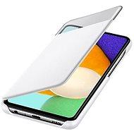 Samsung S-View Pouzdro pro Galaxy A52 White - Kryt na mobil