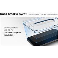Spigen Glas tR EZ Fit 2P iPhone 12 Mini - Ochranné sklo