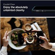 Spigen Glas tR ALM FC Black 2P iPhone 12/iPhone 12 Pro - Ochranné sklo