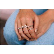 HOT DIAMONDS Willow DR206/S (Ag 925/1000, 2,00 g), vel. 59 - Prsten