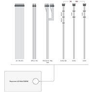 SilentiumPC Supremo L2 Gold 550W V2 - Počítačový zdroj