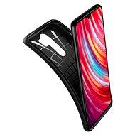 Spigen Rugged Armor Black Xiaomi Redmi Note 8 Pro - Kryt na mobil