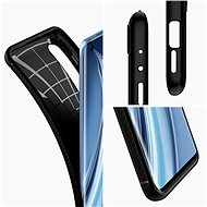 Spigen Rugged Armor Black Xiaomi Mi 10/10 Pro - Kryt na mobil