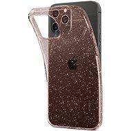 Spigen Liquid Crystal Glitter Rose iPhone 12 Pro Max - Kryt na mobil