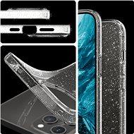 Spigen Liquid Crystal Glitter Clear iPhone 12 Pro Max - Kryt na mobil