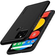 Spigen Thin Fit Black Google Pixel 5 - Kryt na mobil