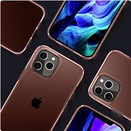 Spigen Crystal Flex Rose iPhone 12 Pro Max - Kryt na mobil