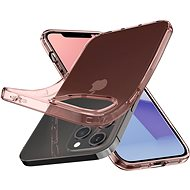 Spigen Crystal Flex Rose iPhone 12/iPhone 12 Pro - Kryt na mobil
