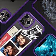Spigen Crystal Hybrid Purple iPhone 12 Pro Max - Kryt na mobil