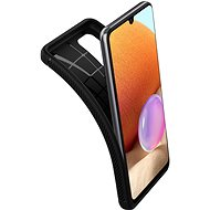Spigen Rugged Armor Black Samsung Galaxy A32 LTE - Kryt na mobil