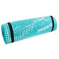 Lifefit Yoga Mat Exkluziv světle tyrkysová - Podložka na cvičení