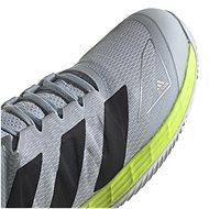 Adidas Adizero Ubersonic 4 šedá/černá EU 45 / 276 mm - Tenisové boty