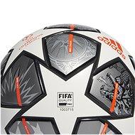Adidas Finale 21 grey 5 - Fotbalový míč