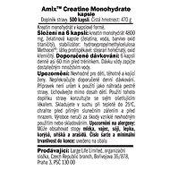 Amix Nutrition Creatine monohydrate, kapsle, 500 kapslí - Kreatin