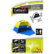 Cattara Zaton - Plážový stan