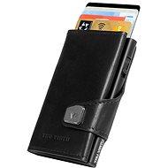 Tru Virtu Click & Slide - leather Nappa Black - Peněženka